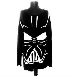Darth Vader Black Sweater Size Large